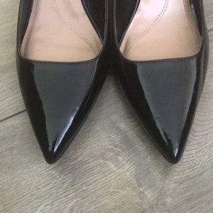 Women's black pumps. Size 11